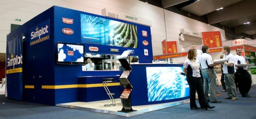 Simplot stand at Melbourne Food Expo
