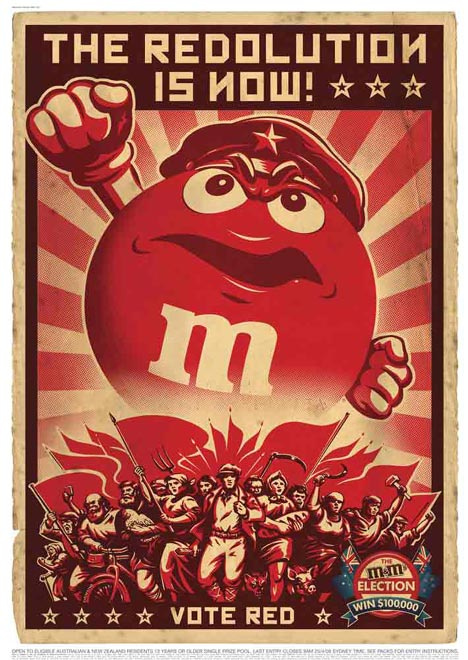 M&M Elections Vote Red