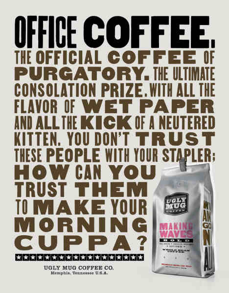 Office Coffee in Ugly Mug Coffee poster