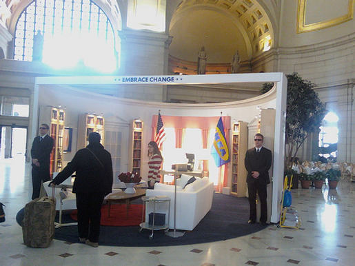 IKEA Oval Office in Union Station, Washington DC