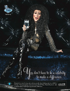 TAP Project Celebrity Cher played by Alex Serpa