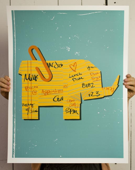 HP Evernote Poster
