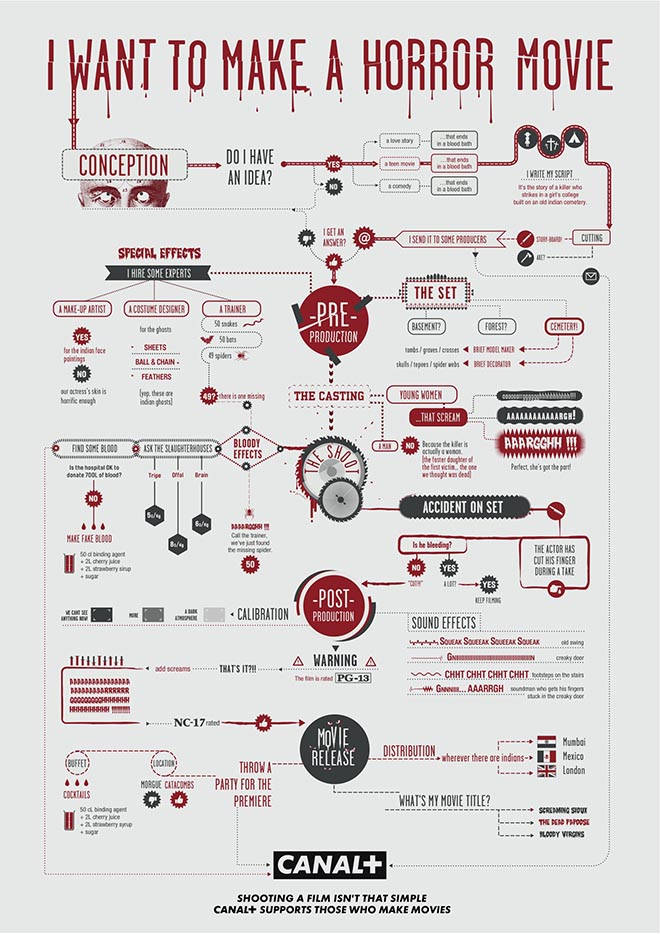 Canal+ Flow Chart