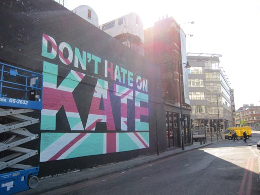 Don't Hate on Kate mural
