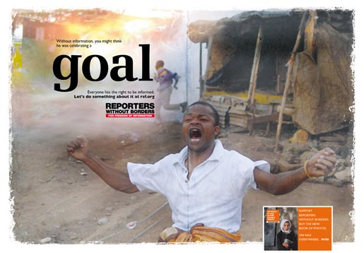 Reporters Without Borders Goal