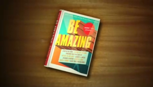 Be Amazing Book from Ransom Riggs film
