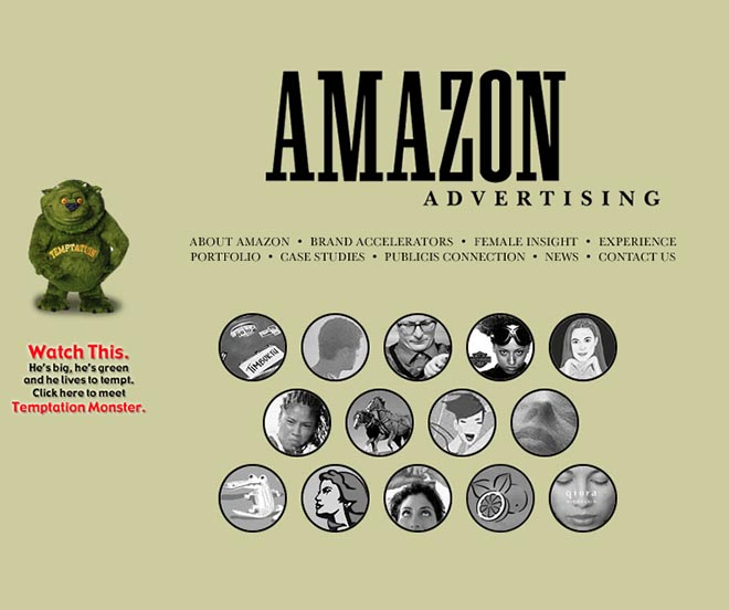 Amazon Advertising site