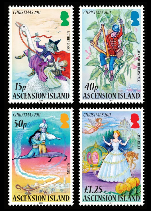Ascension Island Christmas Stamps 2011