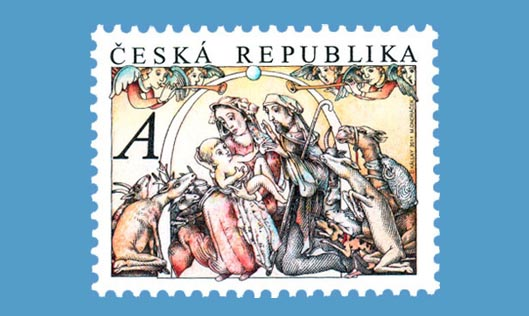 Czech Republic Christmas Stamps 2011
