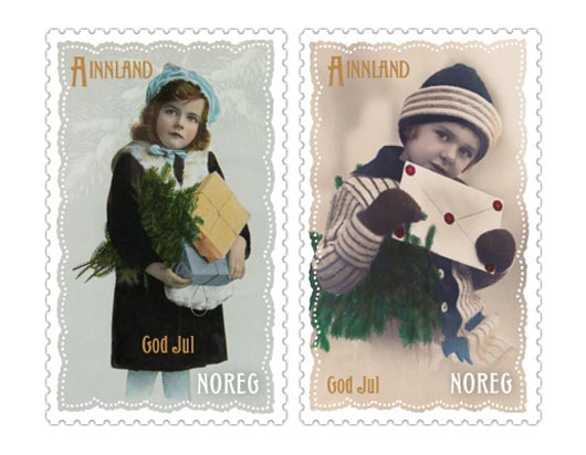 Norway Christmas Stamps 2011