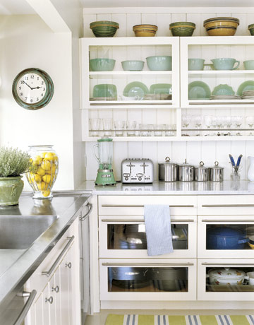 How to have open shelving in your kitchen (without daily staging - open kitchen shelving ideas