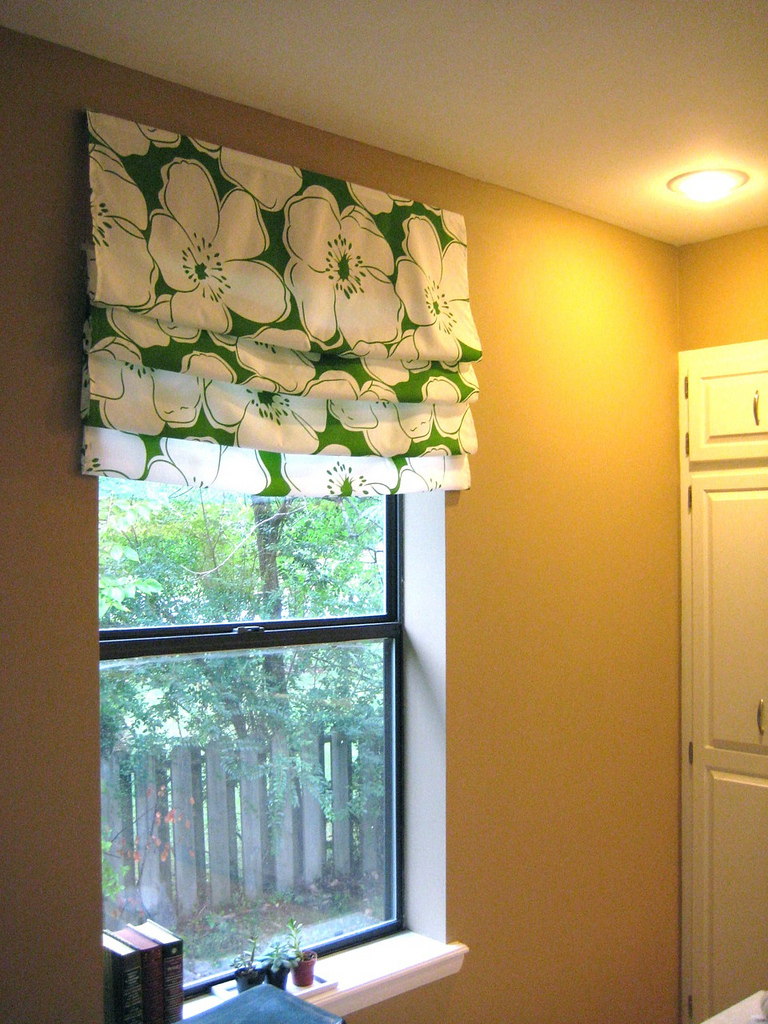 Diy Roman Shades Easy Easy Diy Roman Shade Tutorial Welcome To Heardmont The