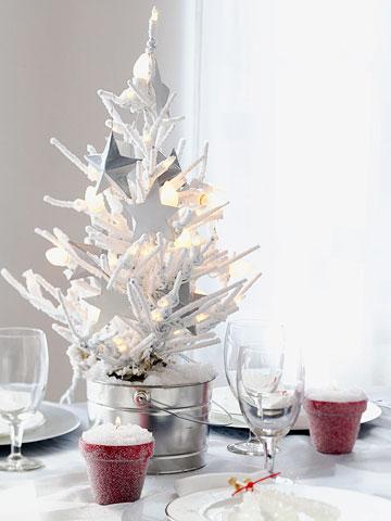 Small \ Festive Christmas Trees Ideas for Christmas Decorating - small decorative christmas trees
