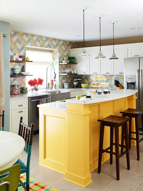 yellow kitchen islands love small space cute grey island small eat kitchen designs