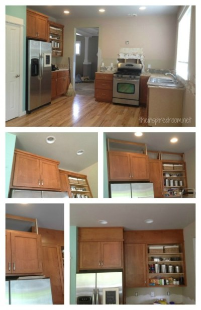 Filling in that Space Above the Kitchen Cabinets