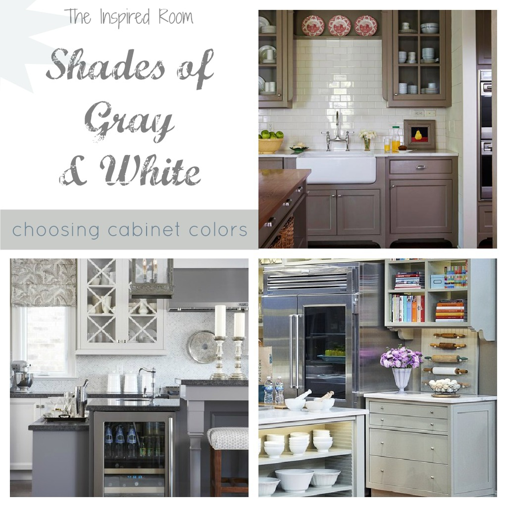 Mixing Kitchen Cabinet Colors Kitchen Cabinet Paint Colors The Inspired Room