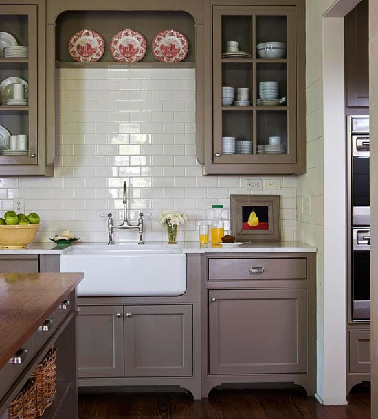 shades neutral gray white kitchens choosing cabinet colors small space cute grey island small eat kitchen designs