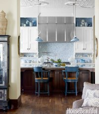 {For the Love of Kitchens} Blue & White Kitchen - The ...