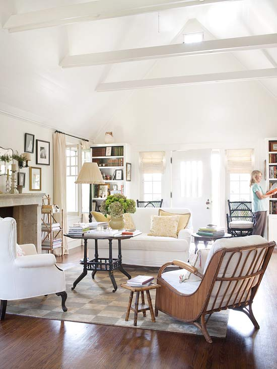 10 Tips for Styling Large Living Rooms { Other Awkward Spaces