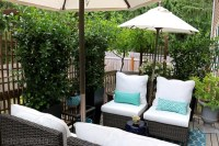 My Small Backyard Deck Makeover {Before & After} - The ...