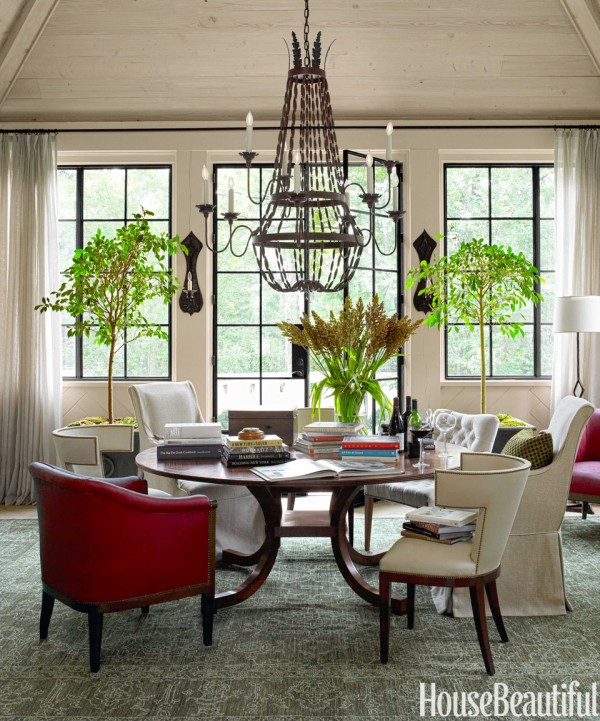 Why I Like This Room A Stylish  Practical Dining Room - The - Beautiful Dining Rooms