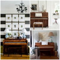 {Inspired By} Pianos in the Home - The Inspired Room