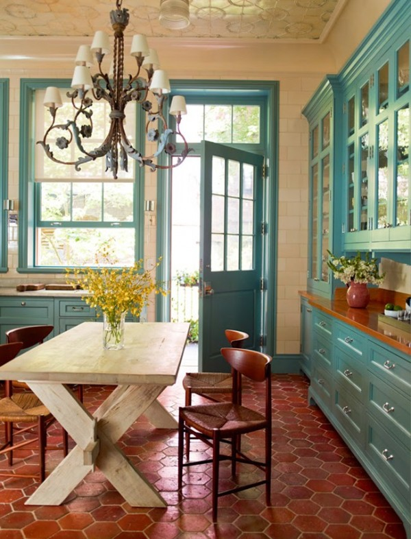rust coral orange fall inspired rooms day loving fall tile cutting tiles sx painting kitchen cabinets kitchen