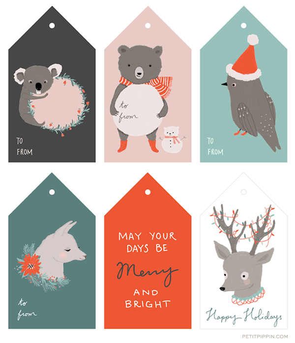 Free Printable Gift Tags - The Inspired Room