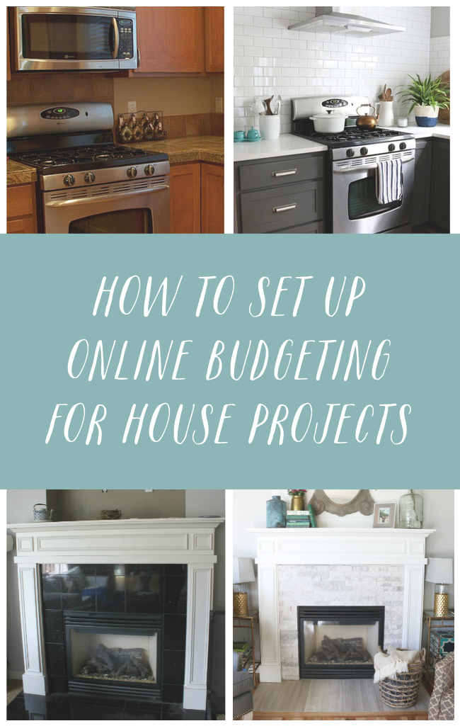 How to Set Up Online Budgeting for House Projects {Goal Setting
