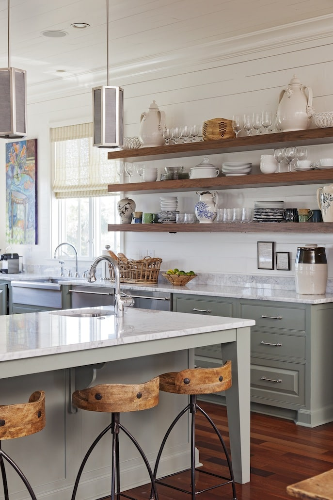 Kitchen Open Shelving: The Best Inspiration & Tips!