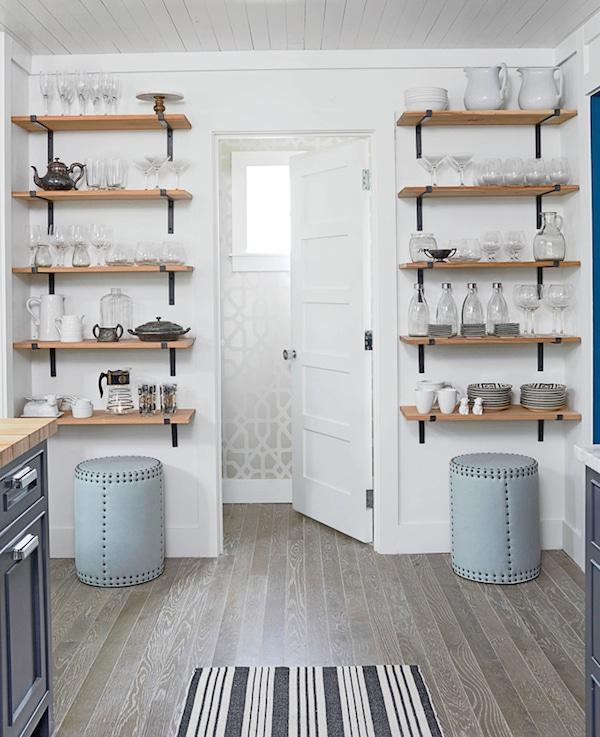 Kitchen Open Shelving The Best Inspiration \ Tips! - The Inspired - open kitchen shelving ideas