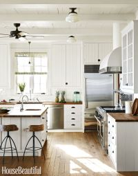 Black Hardware: Kitchen Cabinet Ideas
