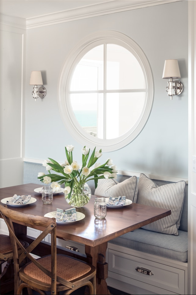 Banquette Veranda Inspired By: Round Windows - The Inspired Room