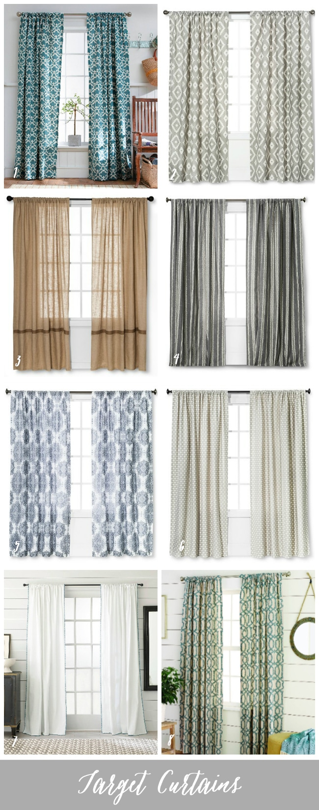 Target Curtain Panels The Question Of Curtain Panels The Inspired Room