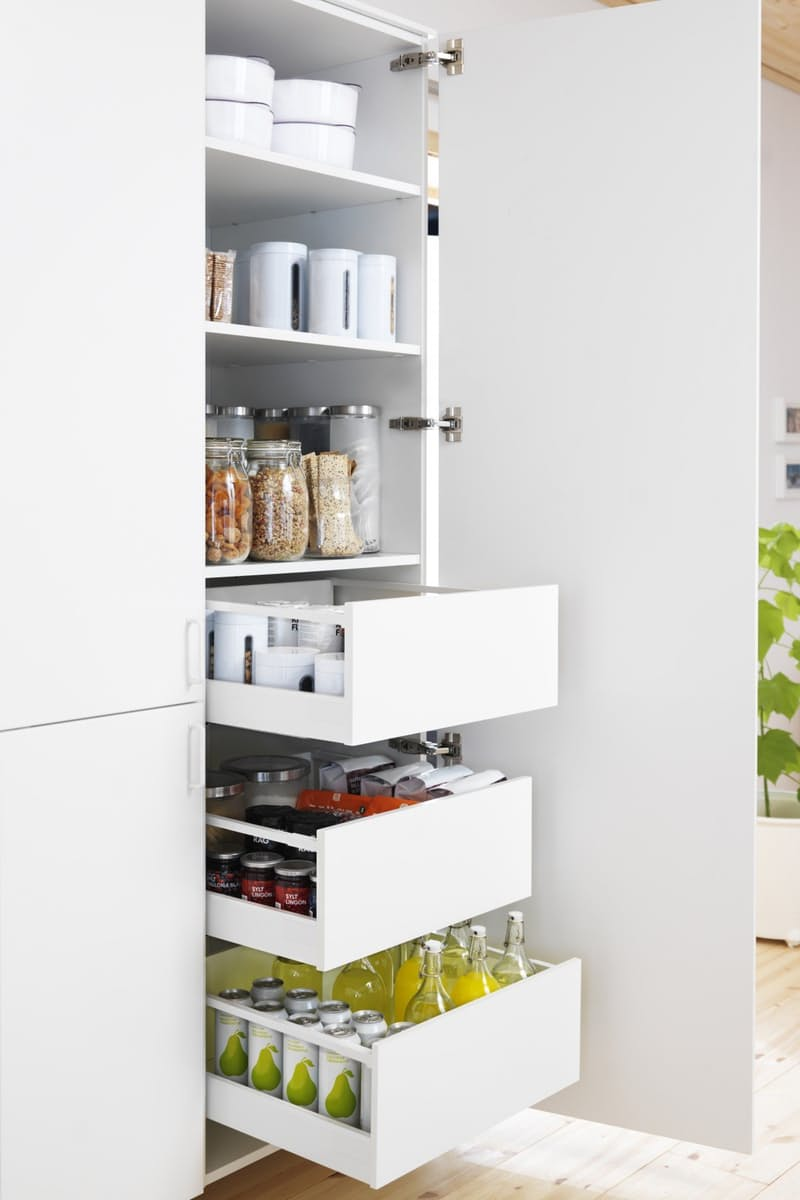 Küche Ikea Hängeschrank Slide Out Kitchen Pantry Drawers: Inspiration - The