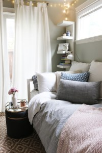Tiny Bedroom Tour (Courtney's Room) - The Inspired Room