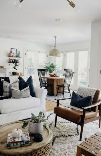 White (+ Neutral) Couch in a Room Inspiration - The ...