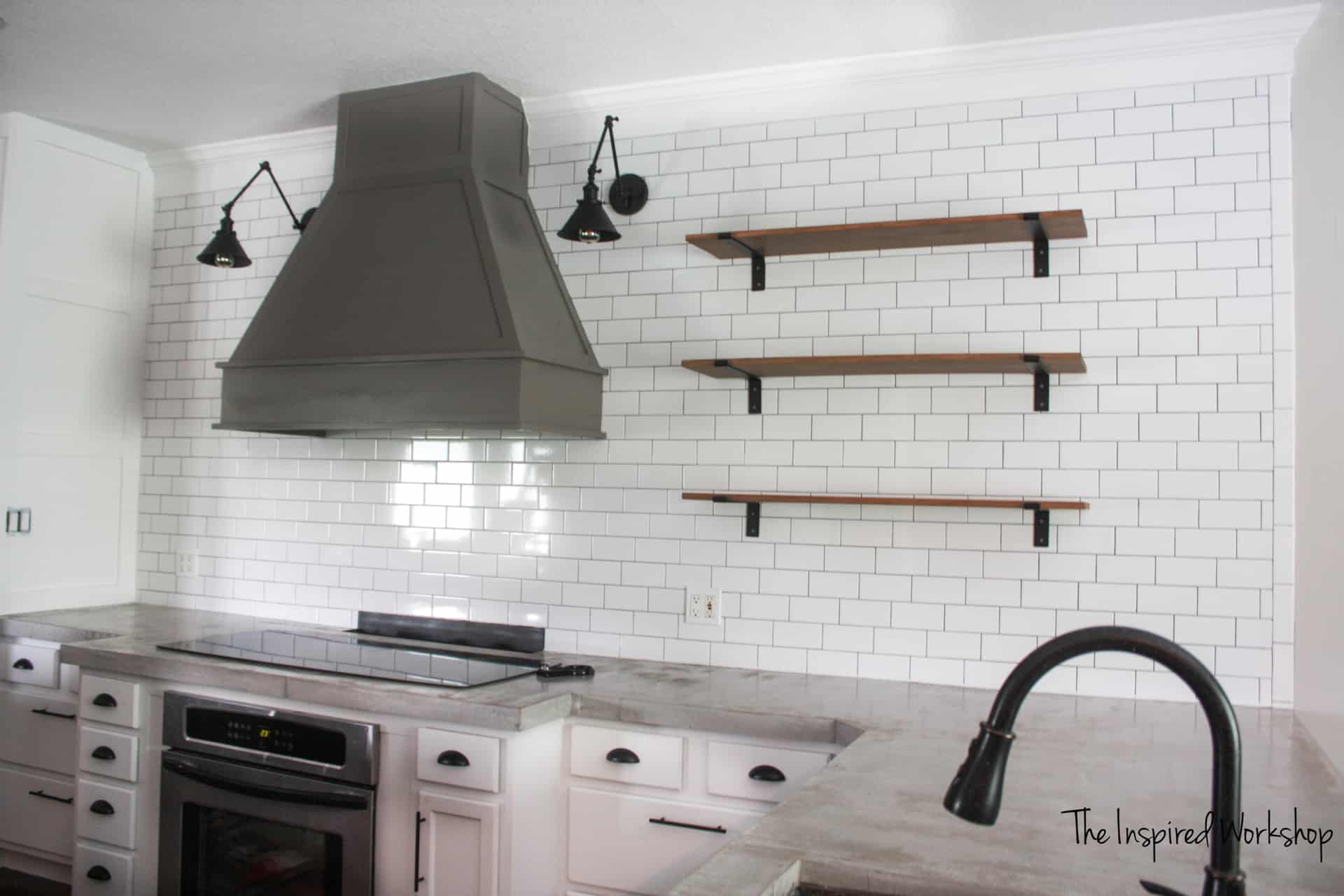 Kitchen Tile Pictures How To Tile A Kitchen Wall The Inspired Workshop