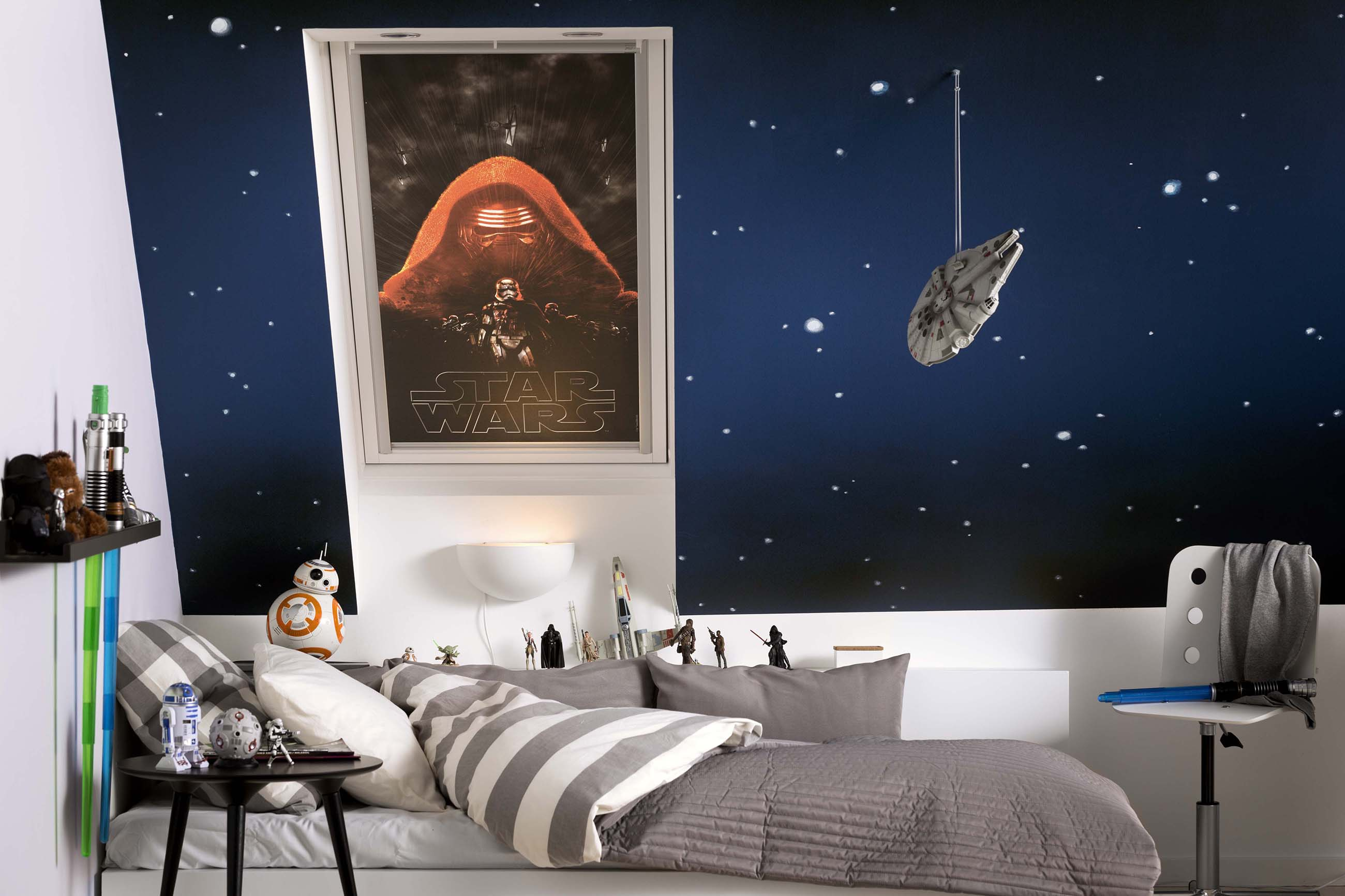 Star Wars Decorating Ideas Star Wars For Your Kids Room The Interior Directory