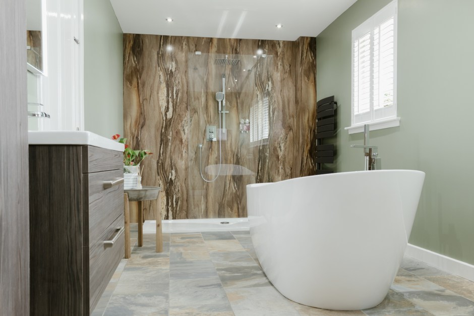 Alternatives To Tiling Your Bathrooms Waterproof Wallcoverings The Interior Editor