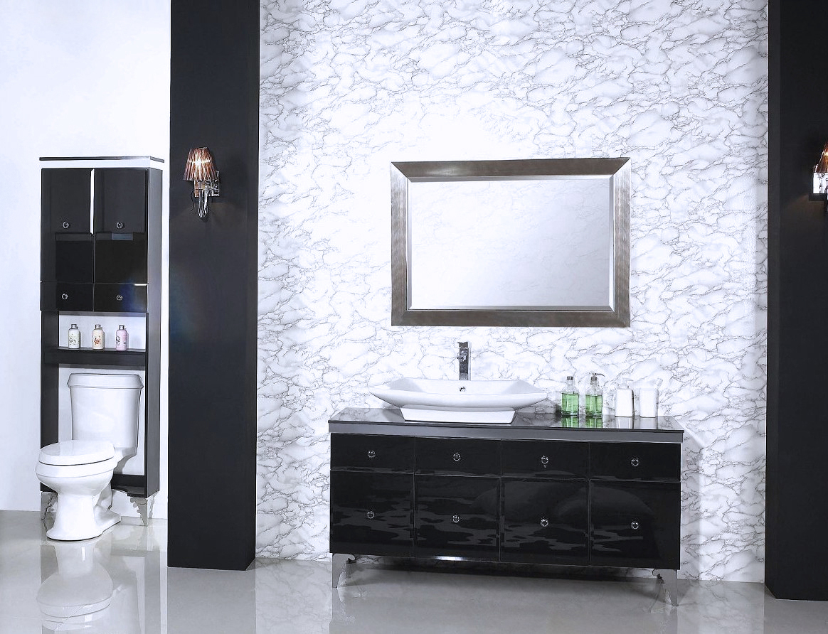 56 Bathroom Vanity Soiree Modern Bathroom Vanity Set 56