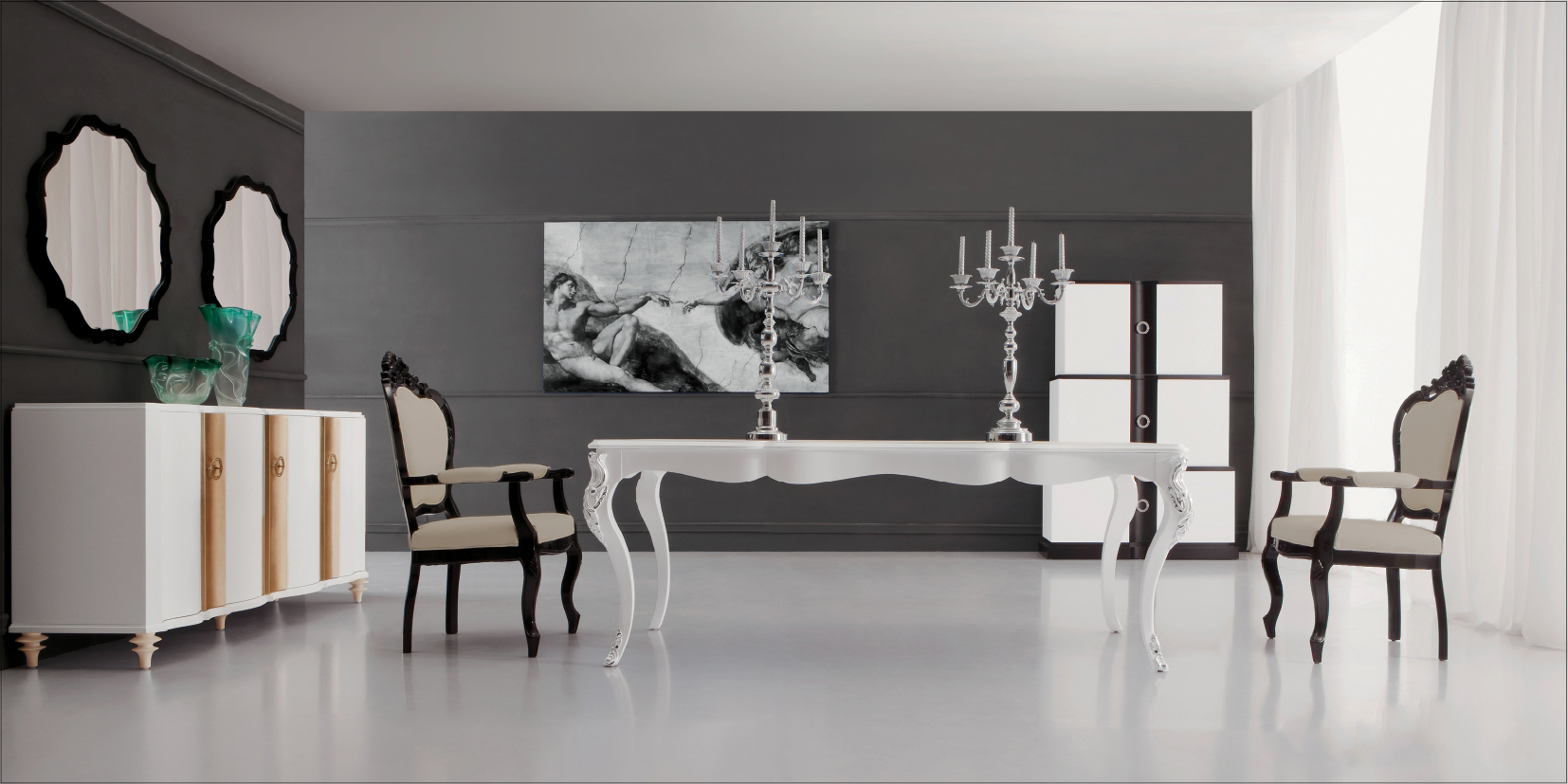 Modern White Dining Table White Dining Table Modern Dining Table Angelina