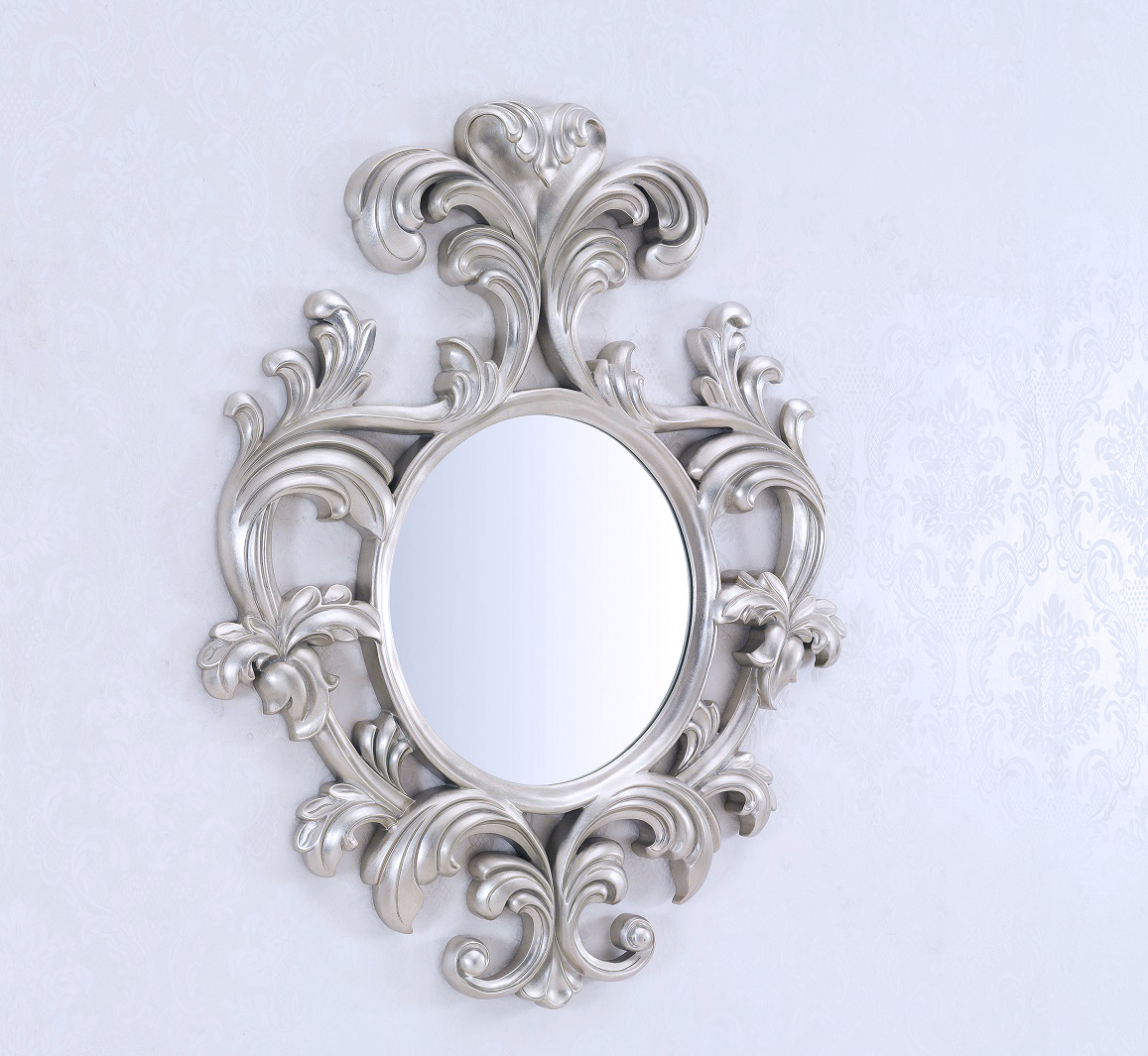 Decorative Mirror Decorative Wall Mirror Large Wall Mirror Geneve Silver