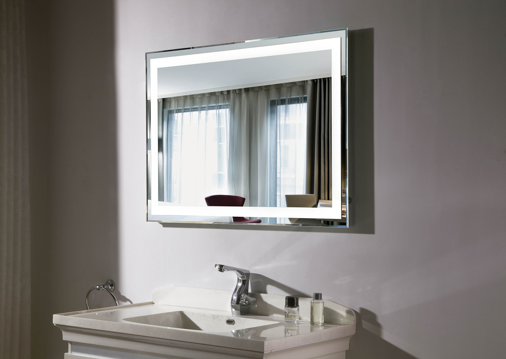 Budapest Iii Lighted Vanity Mirror Led Bathroom Mirror