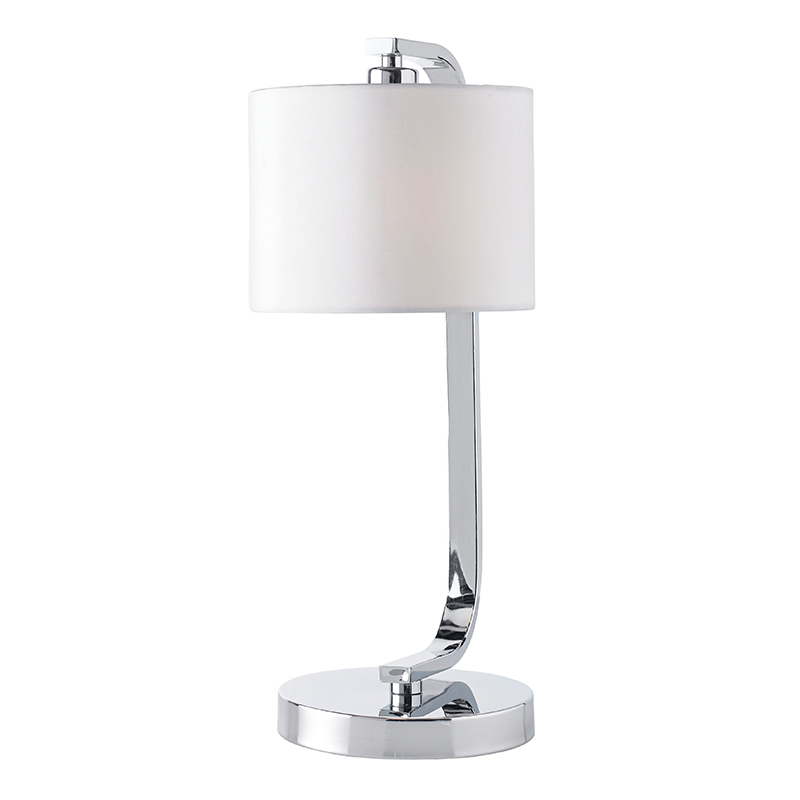 Dimmer Led Ikea Endon Canning-tlch - Chrome Touch Table Bedside Lamp With