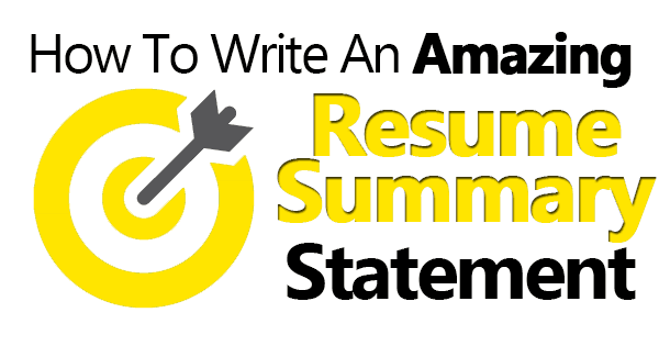 resume objective summary examples