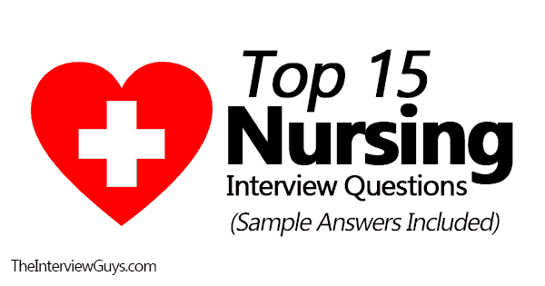 sample nursing job interview questions and answers