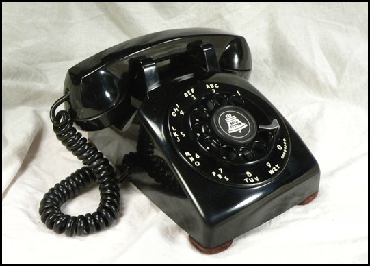 Western Electric Products Telephones Model 500 Index listing of