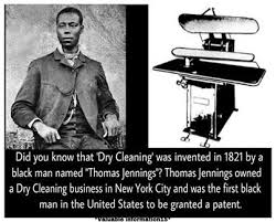Thomas L Jennings, 1st Black to Receive a Patent, Mini Biography