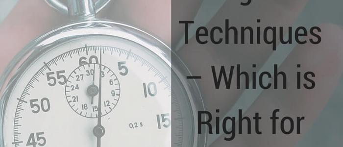 Time Management Techniques – Which is Right for You?